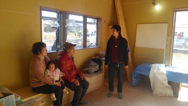 【注文住宅】久喜市O様邸 お客様がご家族で現場に来られました!