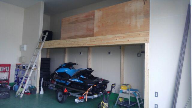 中二階の工事が完了しました。