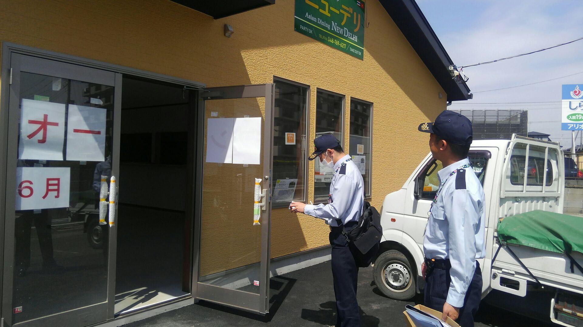 蓮田市消防本部さんによる消防検査が入りました。