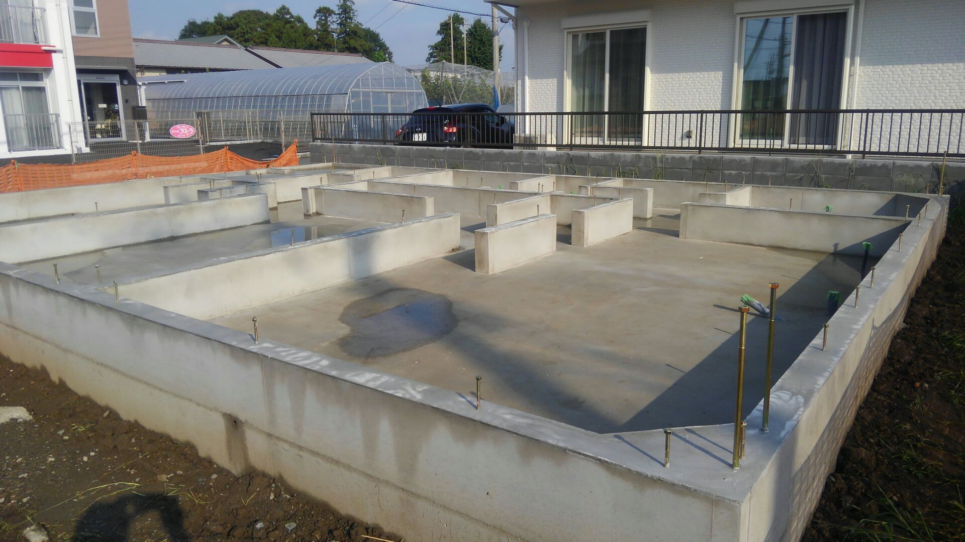 【注文住宅】新白岡市K様邸 基礎工事が完了しました。