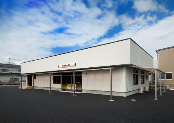 【建物施工】(仮称)かぞヤクルト販売株式会社 富士見町店様、無事に竣工式を終える事ができました。
